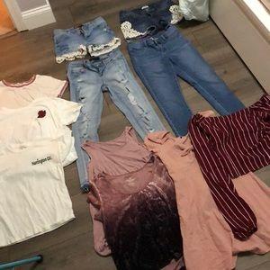 big clothing bundle
